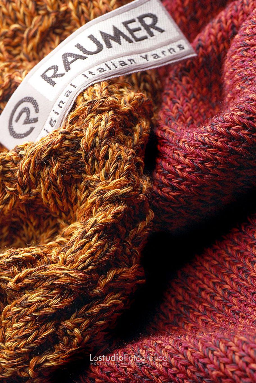 Fotografia di still life pubblicitario tessuti lana Vicenza. Studio fotografico advertising, commerciale, cataloghi, brochure, fotografia di prodotto. Fotografo pubblicitario Veneto.